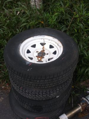 4 trailer tires for Sale in Coral Springs, FL