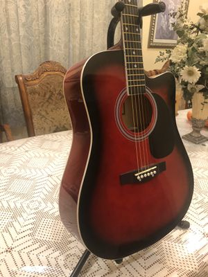 Fever acoustic guitar with metal strings for Sale in Lynwood, CA