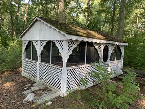 Shed with Gliding Swing for Sale in Burlington, NJ