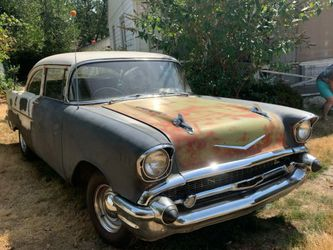 11,000obo package deal firm or singlely 57 2dr post 34 ford 54 belair for Sale in Gresham,  OR
