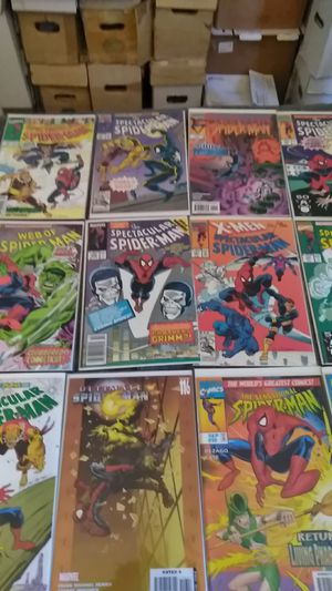 Spiderman comics $2 each for Sale in Shelton, CT
