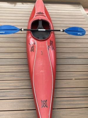 """Perception """"Dancer"""" kayak and paddle. $100 Firm for Sale in Chula Vista, CA"""