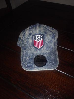 New Era USA strapback jean hat for Sale in Moreno Valley, CA