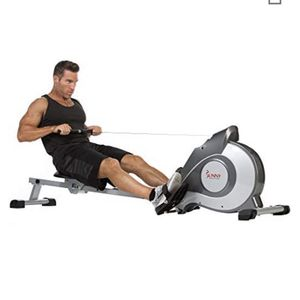 Sunny Health & Fitness Magnetic Rowing Machine Rower w/ LCD Monitor for Sale in Chico, CA