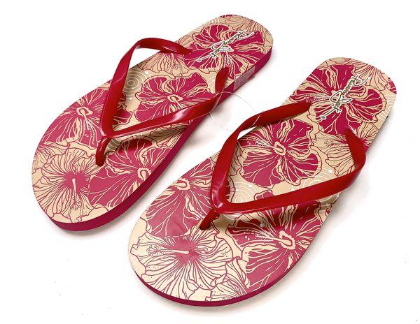 Panama Jack Floral Flip Flops