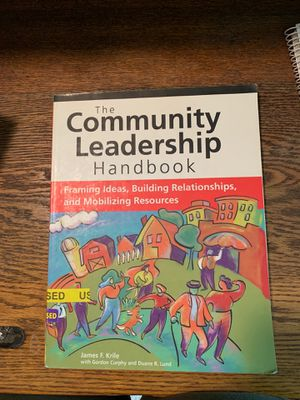 The Community Leadership Handbook for Sale in Mount Joy, PA