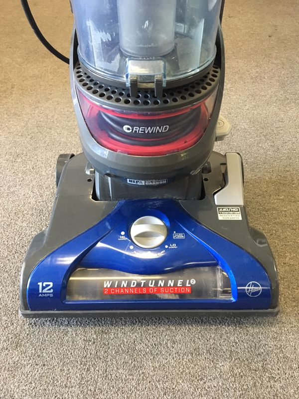 Hoover WindTunnel 2 Rewind Pet Upright Vacuum - Blue