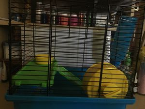 HAMSTER CAGE FOR SALE -IT'S IN VERY GOOD CONDITION PERFECT FOR ANY HAMSTER for Sale in Costa Mesa, CA