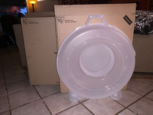 2 XL wreath storage containers NEW for Sale in Fresno, CA