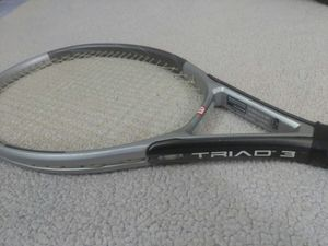Wilson Triad 3 Tennis Racket, Head 115 Grip 4 5/8 Strung & Ready for Sale in Norwalk, CT