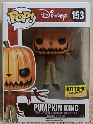 Funko Pop Disney The Nightmare Before Christmas Pumpkin King Glow in the Dark Hot Topic Exclusive for Sale in Scottsdale, AZ