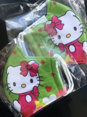 Hello Kitty Green Facemask 🙀 for Sale in Seffner, FL