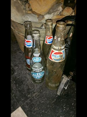 Antique bottles I've found metal detecting for Sale in Roxboro, NC
