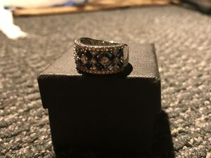 925 Korean stone sterling ring for Sale in Silver Spring, MD