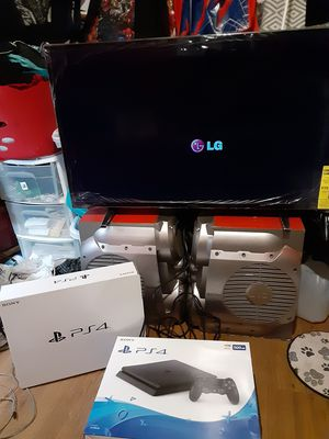 PS4 XMAS BUNDLE W/40 INCH LED!!! for Sale in Owatonna, MN