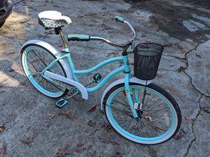 "HUFFY Summerland 24"" bike with basket for Sale in Marietta, GA"