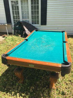 Billiard table 8 foot long for Sale in Fairfax, VA