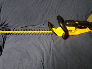 New Dewalt 20v MAX hedge trimmer 22 inches [tool only loop for Sale in Ashburn, VA