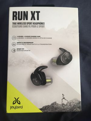 Jaybird Run XT Wireless Headphones Excellent condition for Sale in South Gate, CA