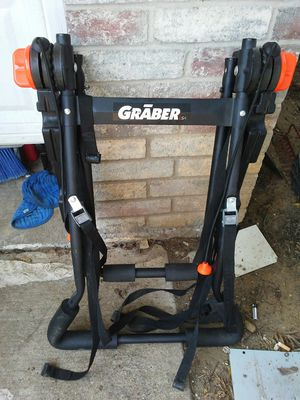 Graber USA Trunk Mounted Bike Rack (Fits Most Vehicles) 3 Bikes for Sale in Dallas, TX
