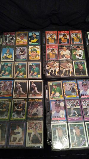 Jose canseco baseball cards and rookie cards for Sale in Lodi, CA
