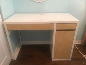 wood desk from IKEA for Sale in Buffalo Grove, IL