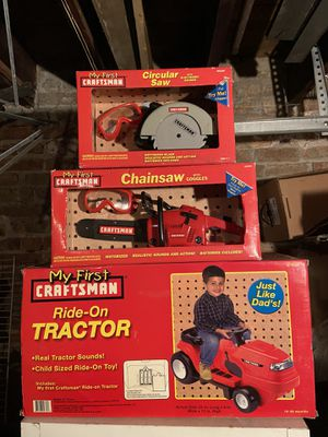 Craftsman Kids Toys ( NEW in box) for Sale in Chicago, IL