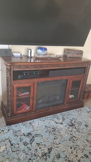 TV stand, entertainment center, fireplace for Sale in Spring, TX