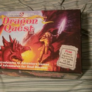 Vintage Dungeons & Dragons DRAGON QUEST Board Game 1100 TSR 1992 for Sale in Los Angeles, CA