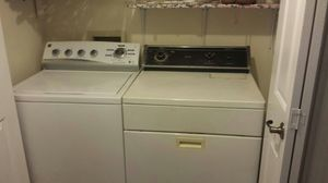 KENMORE HIGH EFFICIENCY Washer and Whirlpool dryer. $350 BOTH WORK WITH NO ISSUES. MOVING AND DON'T NEED. for Sale in Tampa, FL