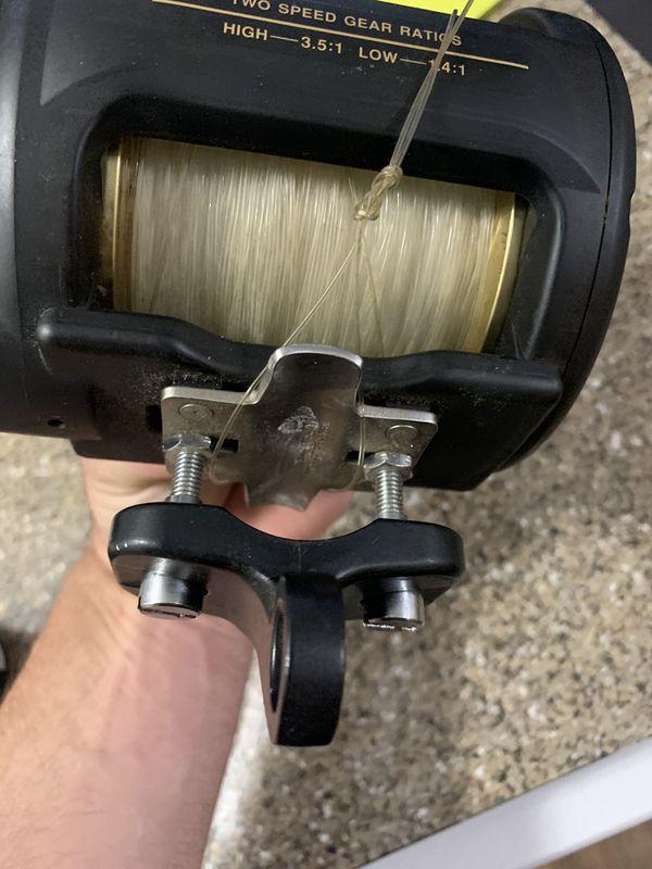 Shimano TLD 50 2 Speed Fishing Reel