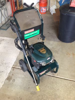 Craftsman 2100 PSI Pressure Washer for Sale in West Chicago, IL