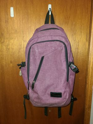 USB Enabled Mancro Commuter Backpack with Lock for Sale in Fremont, CA