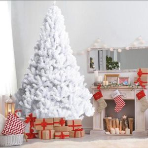 E7-5. 7 ft. Artificial PVC Christmas Tree with Stand White for Sale in Diamond Bar, CA