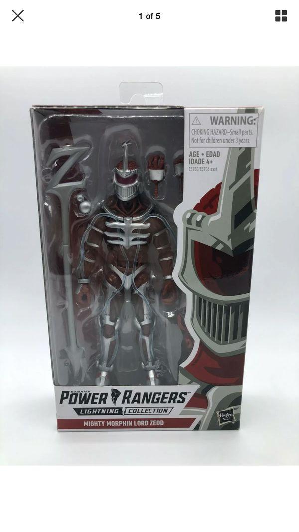 Power rangersLord Zedd lightning collection