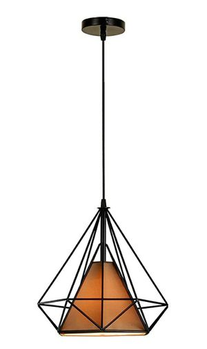 Dalux Pendant Light, Modern Retro Industrial Diamond Shade Ceiling Hanging Light for Kitchen Island Dining Room Hallway (11in11in11.8in) for Sale in Corona, CA