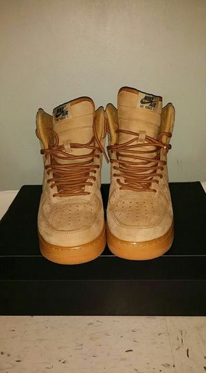 Wheat Air Force 1 Nike Sz 9 for Sale in Tucker, GA