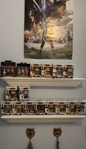 Funko pop massive collection of stranger things pops and action figures for Sale in Gretna, LA