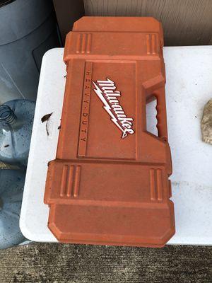 Milwaukee SAWZALL case for Sale in Oakwood, GA
