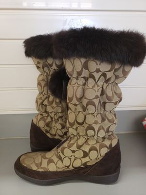 Women's Coach Boots Size 9 for Sale in Kissimmee, FL