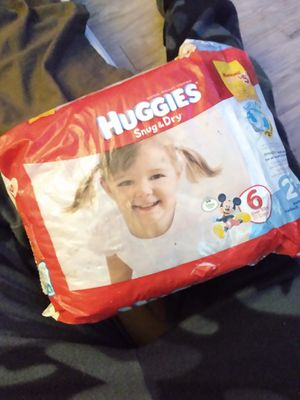 Huggies diapers size 6 (20) for Sale in Austin, TX