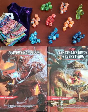D&D Books and Dice for Sale in Fort Worth, TX
