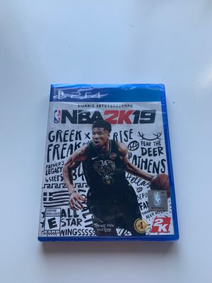 2k19 for Ps4 in Wrapper for Sale in Pinecrest, FL