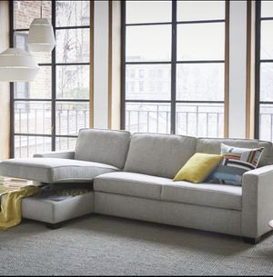 Brand New West Elm Henry Sleeper Sofa Sectional for Sale in Seattle, WA