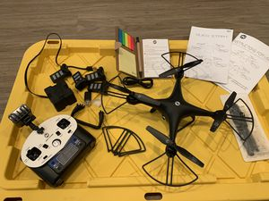 Holy stone HS 110 drone 4 batteries for Sale in Woodway, WA