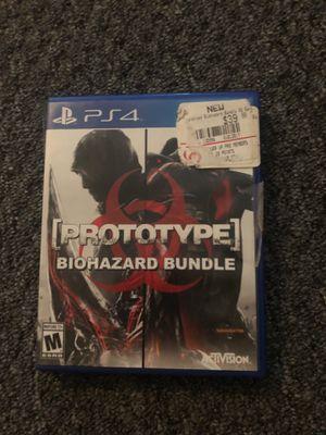 Prototype biohazard bundle PS4 game for Sale in Saint James, MO