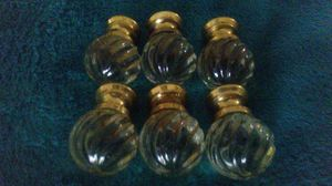 7 Antique Glass Swirl Furniture Drawer Chest Pull Knob with FREE Shipping!!! for Sale in Apopka, FL