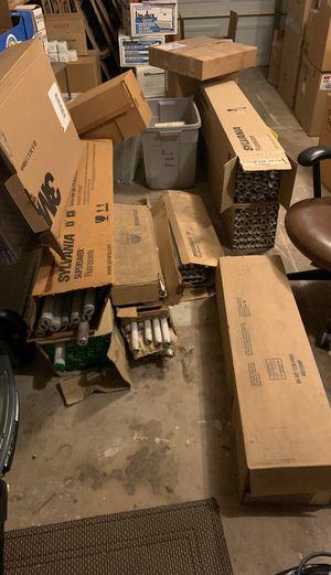 Approximately 250 fluorescent light bulbs for Sale in Scottsdale, AZ