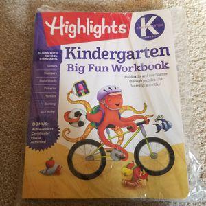 Highlights work book (grade K) for Sale in Alpharetta, GA