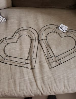 Two hearts wire frame for Sale in Orlando, FL